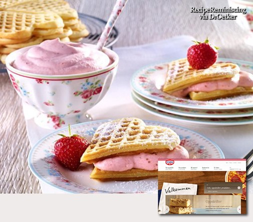 941_almond waffles with strawberry cream_post