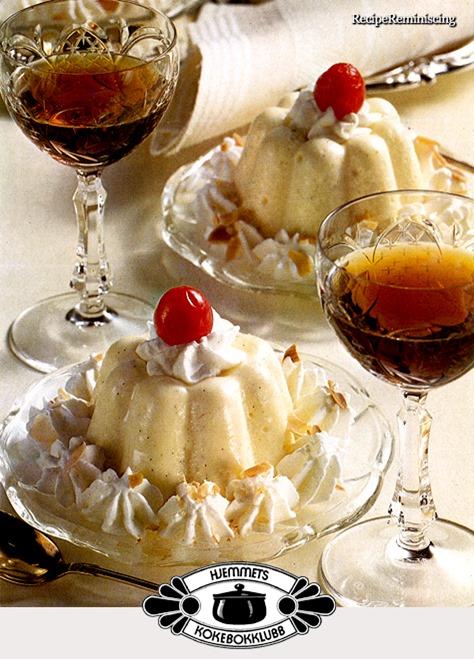klassisk vaniljefromasj - creme bavarois_post