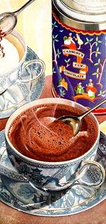1951 Cadbury's Drinking Chocolate ad b