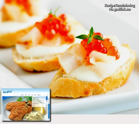 Bruschetta med kamskjell og lakserogn_godfisk_post