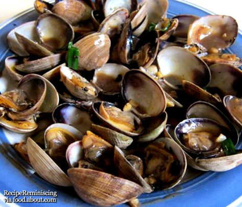 Chinese Stir-fry Clams in Black Bean Sauce_aboutfood_page