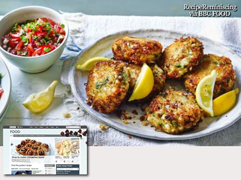 Crab and cod fishcakes with tomato salsa_bbc-food_post