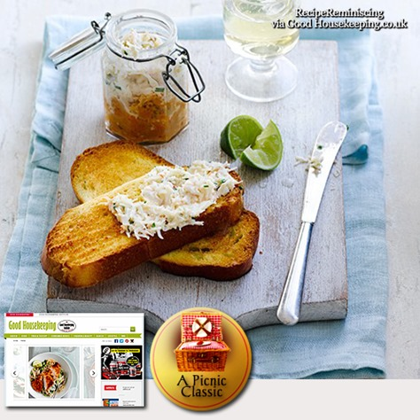 Crab paté on toasted brioche_goodhousekeeping_post