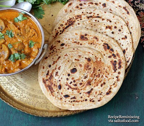 Lachha paratha_sailusfood_page
