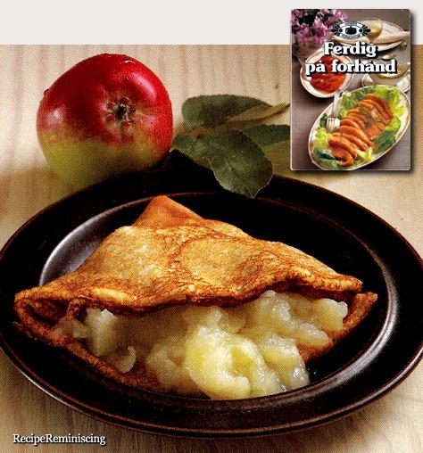 pannekaker med eplemos_post