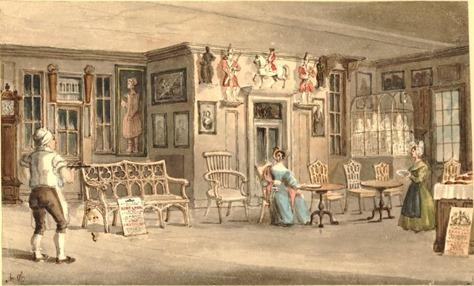 The Bun House i Chelsea - Interior