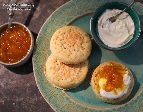 Moroccan crumpets with clementine marmalade_sbs_com_au_page