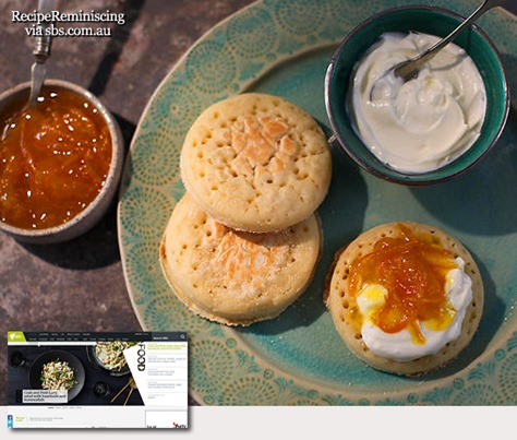 Moroccan crumpets with clementine marmalade_sbs_com_au_post
