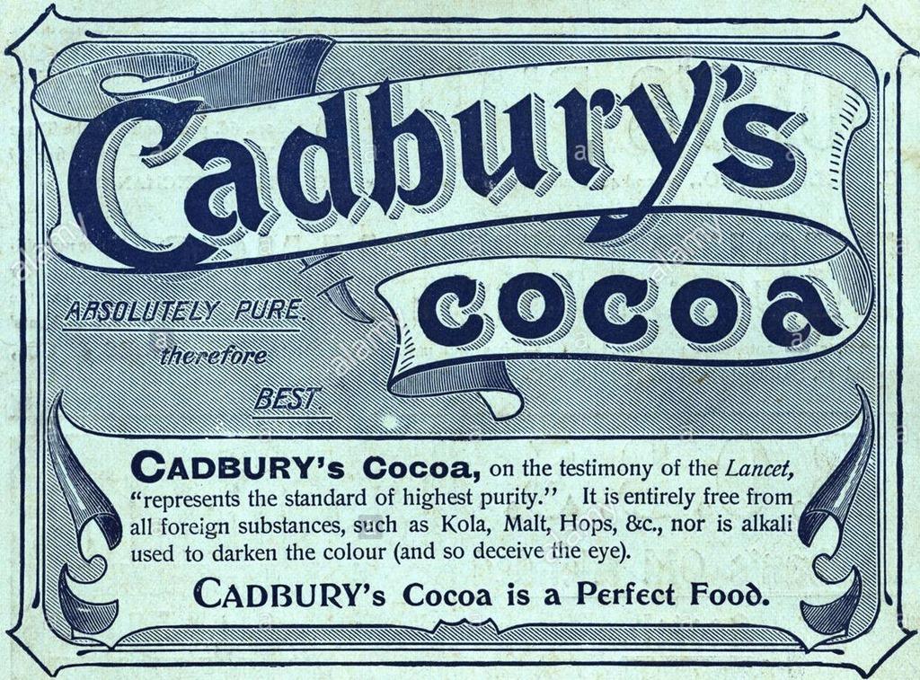 the cadbury business created by john cadbury in 1824 John cadbury opened his first shop in 1824 on bull street in birmingham,  and cadbury's business continued to grow john cadbury's  created by leo burnett.
