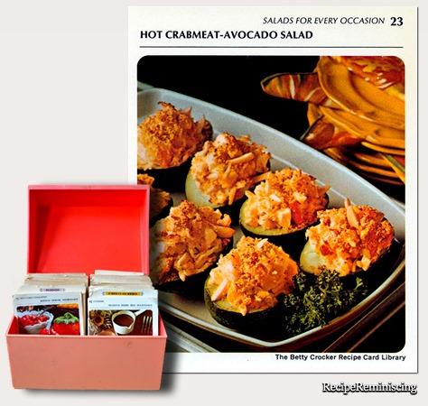 Salad - Hot Crabmeat Avocado Salad C
