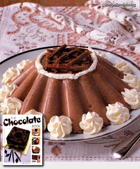 chocolate and coffee bavarois_post