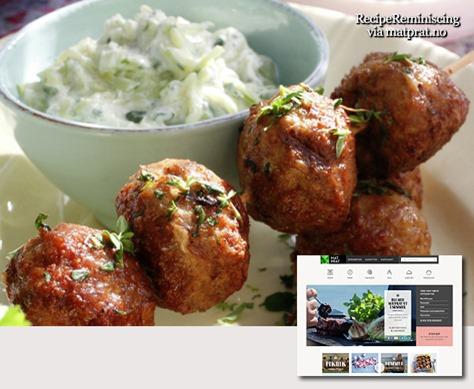 greske lammeboller på spyd med gresk salat_post