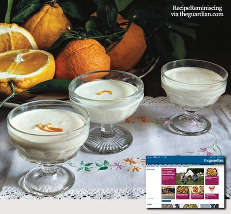 sack posset – a rich pudding to cure all ills_post