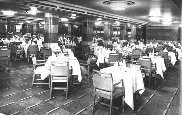 food history titanic s passengers last supper