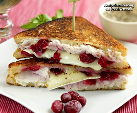 Pan-fried Turkey, Brie and Cranberry Sandwich_foodnetwork_page
