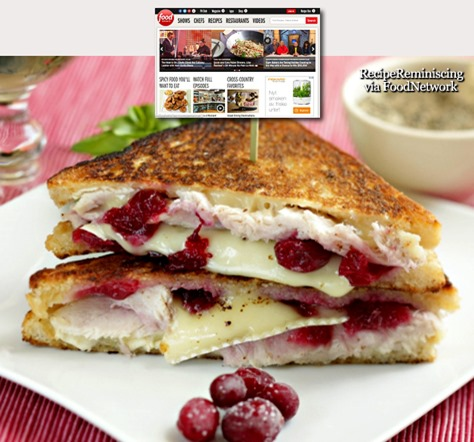 Pan-fried Turkey, Brie and Cranberry Sandwich_foodnetwork_post