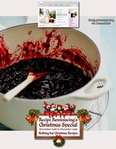 Spicy Cranberry Jam / Krydret Tyttebærsyltetøy