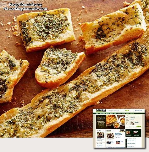 Herbed Garlic Bread / Urtekrydret Hvitløksbrød