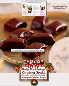Chocolate & Mint Toffees / Sjokolade Og Mintkarameller