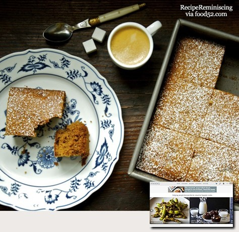 Rustic French Honey Cake_post