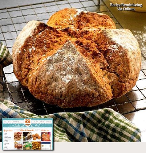 Traditional Irish Soda Bread / Tradisjonelt Irsk Sodabrød