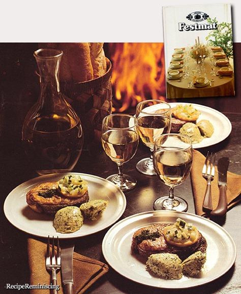 Roasted Salmon With Maitre d'Hotel Butter / Ristet Laks med Maitre d'Hôtel-Smør