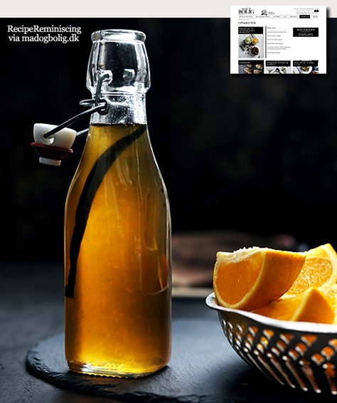 Orange Syrup / Appelsinsirup