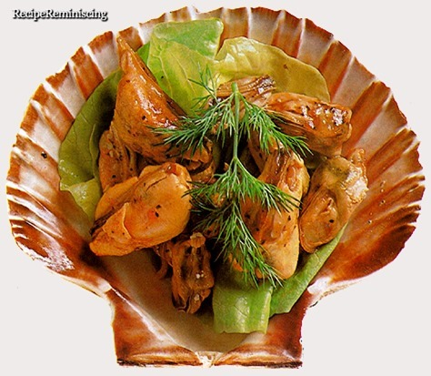 Mussels In Dressing