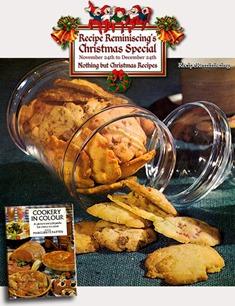 Cherry & Walnut Cookies / Kirsebær & Valnøtt Kaker