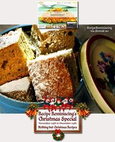 Danish Spice Cake / Dansk Krydderikage