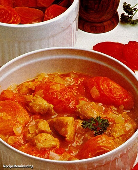 Chicken with Apricots