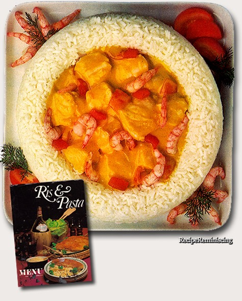 Rice Ring With Curry Fish / Risrand med Karry-fisk