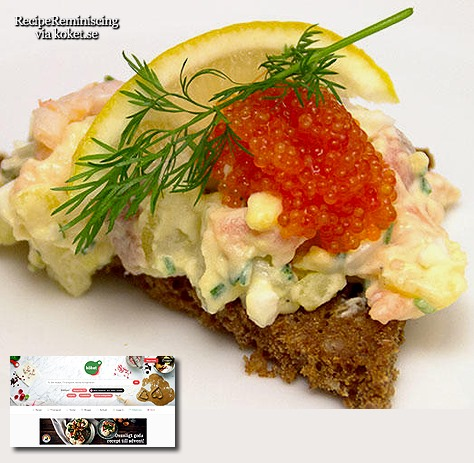 Old lady s spread on pumpernickel tantr ra p for Classic starter recipes