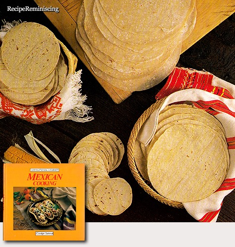 Tortillas de Maíz – Corn Tortillas / Maistortillas