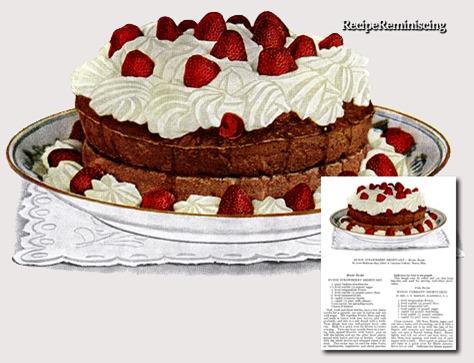 Ryzon Strawberry Shortcake / Ryzon Jordbærkake