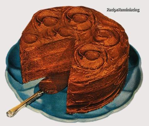 Devils Cake med Sjokoladeglasur