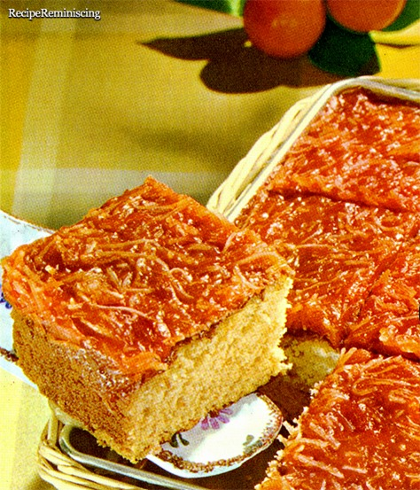 Apricot Gooey Cake