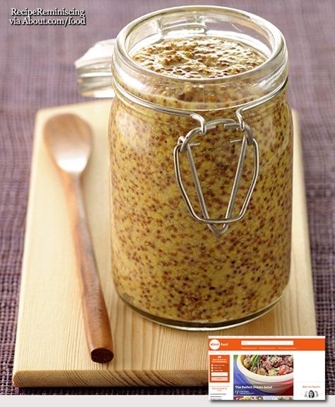 Basic Homemade Country Mustard / Grunnleggende Hjemmelaget Landsens Sennep
