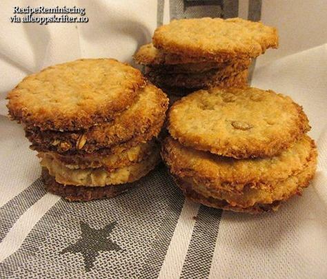 Grandma's Oat Biscuits