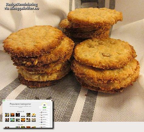 Grandma's Oat Biscuits / Bestemors Havrekjeks