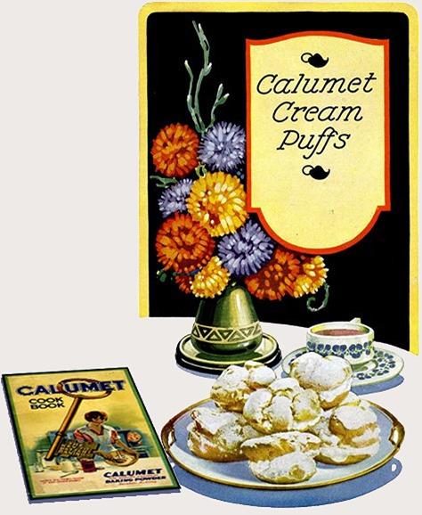 Calumet Cream Puffs / Calumet Vannbakkels
