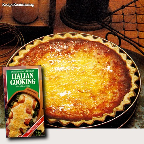 Crostata Dolce di Ricotta – Italian Curd Tart / Italiensk Osteterte