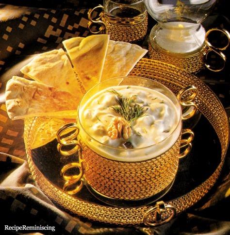 Dill og Valnøtt Yoghurt