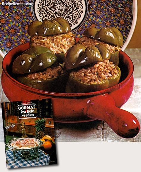 Felfel Bil Roz – Egyptian Stuffed Peppers / Egyptiske Fylte Paprika