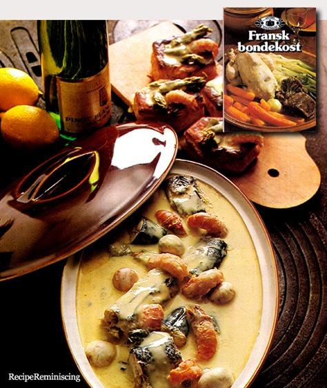 Matelote Alsacienne – Fish Casserole from Alsace / Fiskegryte fra Alsace