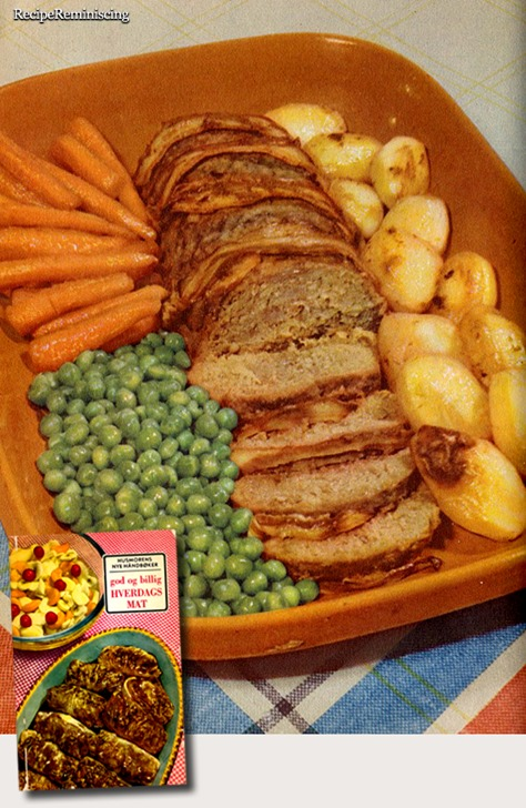 Meatloaf Fifties Style / Femtitalls Kjøttbrød