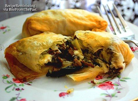 Jane Austen's Beef And Stilton Pastie