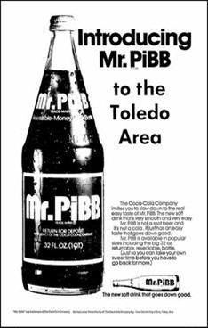 Soda & Soft Drink Saturday - Mr PiBB