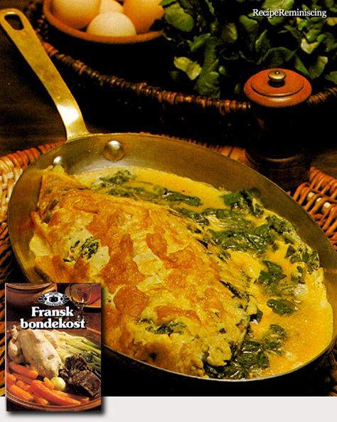 Omelette aux Épinards - Spinach Omelette / Spinatomelett
