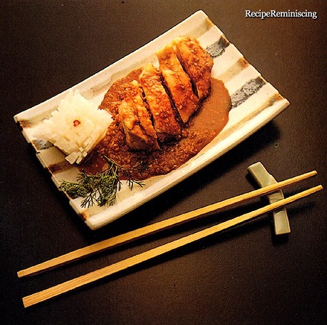 Tori Saka Mushi No Goma - Japanese Sake Steamed Chicken in Sesame Sauce
